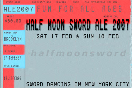 Half Moon Sword Ale 2007